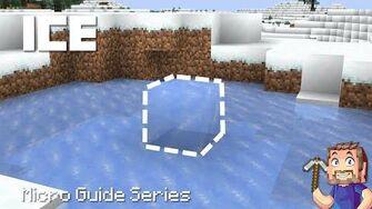 Ice - Minecraft Micro Guide