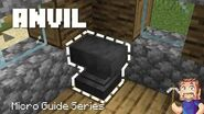 Anvil - Minecraft Micro Guide