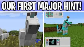Minecraft OUR FIRST 1.17 1.18 HINT! The Next Major Update Is???