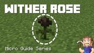 Wither Rose - Minecraft Micro Guide