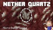 Nether Quartz - Minecraft Micro Guide