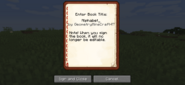 minecraft written book