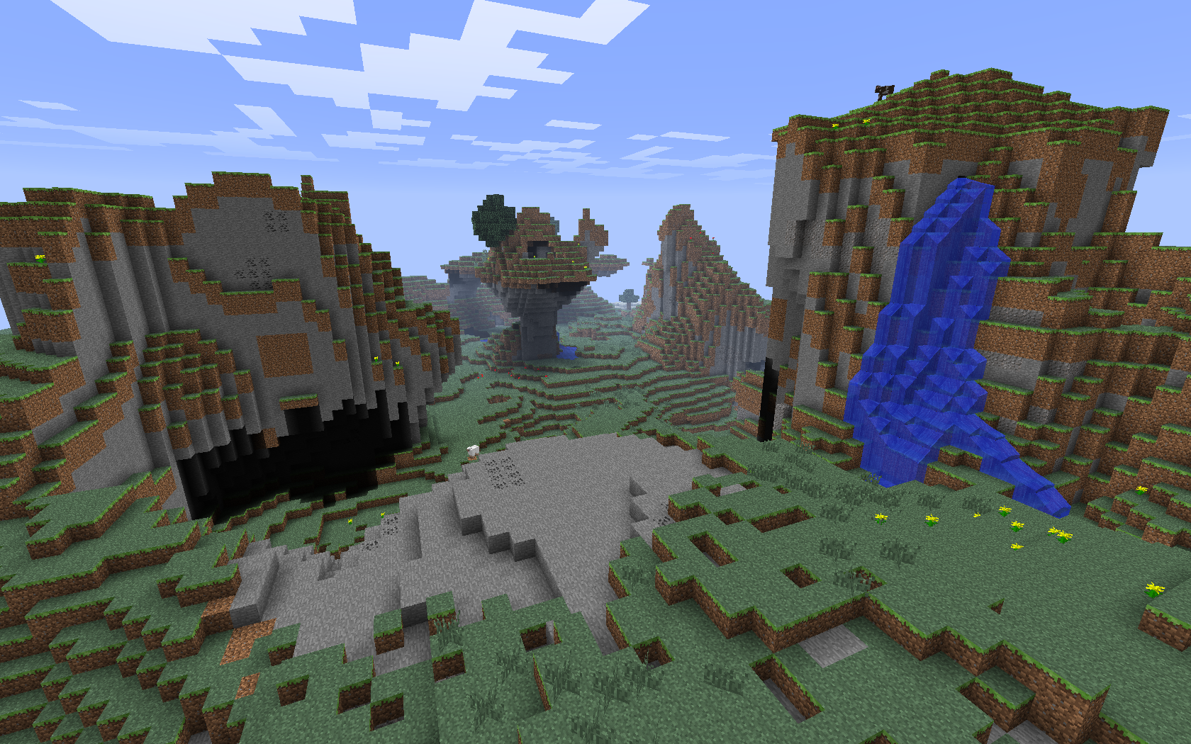 Extreme Hills Biome Minecraft Wiki Fandom Powered By Wikia