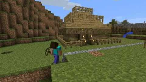 Пример грифинга в Minecraft
