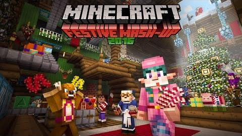 Minecraft Festive Mash Up 2016 now available on Pocket Win 10