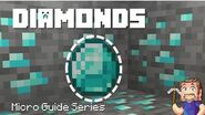 Diamonds - Minecraft Micro Guide