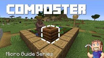 Composter - Minecraft Micro Guide