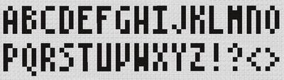 アルファベット 大文字