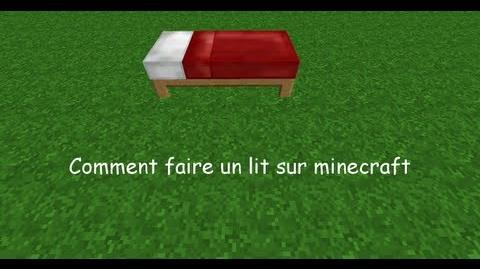 Tuto Comment crafter un lit sur minecraft