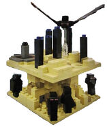 LEGO-Minecraft-Micro-World-The-End-21107-2014-Summer-Set