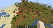 NPC-kylä ylhäältä