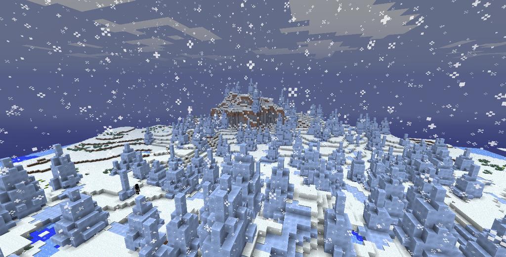 minecraft xbox one ice spike biome seed