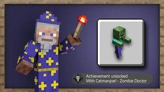 Minecraft - Zombie Doctor - Achievement Guide!