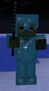 Zombie w Diamentowej Zbroi