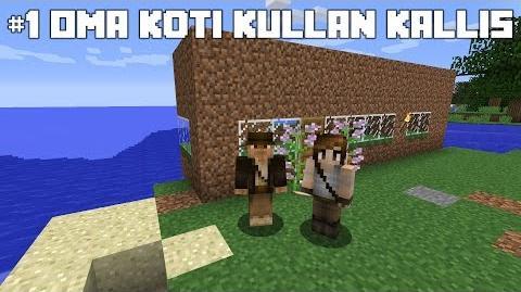 Minecraft Survival 1 oma koti kullan kallis-0