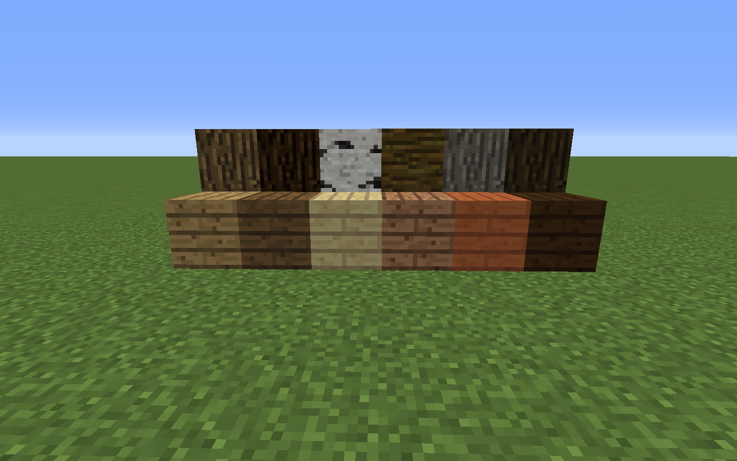Wood planks minecraft wiki fandom powered by wikia for Plank blocks
