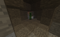 Creeper In The Cave
