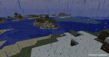 Minecraft rain