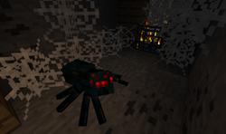 Luolahämähäkki spawnaa