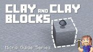 Clay & Clay Blocks - Minecraft Micro Guide