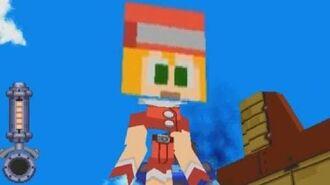 Mega Man Legends Minecraft Edition PSX Gameplay
