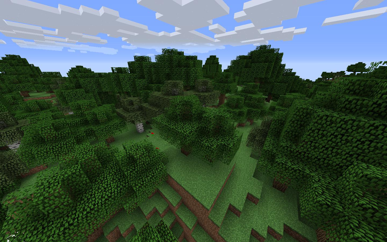 Forest Biome Minecraft Wiki Fandom Powered By Wikia