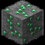 Bloc minerai d'émeraude