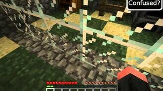 Minecraft How to make a Mirror