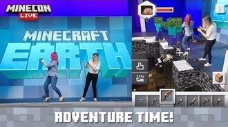 MINECON Live 2019 Adventures in Minecraft Earth