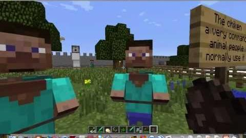 Steve villagers minecraft-2