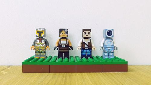 Image - Lego Minecraft Skins Pack 1.Jpeg   Minecraft Wiki   Fandom