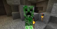 Creeper In Cave