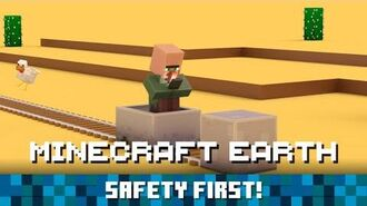Minecraft Earth Safety First