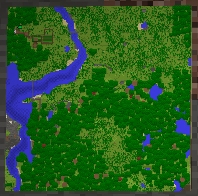 Multiple Maps Can Be Mounted On A Wall, And Arranged To Make A Larger Map  Of The Overworld.