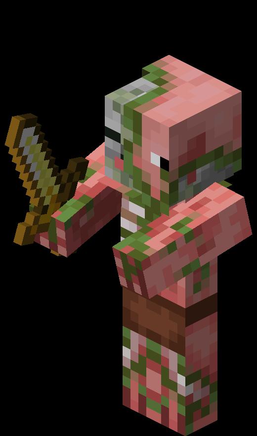 Zombie Pigman   Minecraft Wiki   FANDOM powered by Wikia