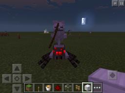 Spider jockey in minecraft pocket edition