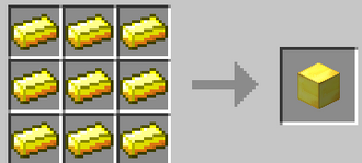 GOLD BLOCK crafting