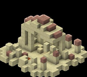 A warm ocean ruin