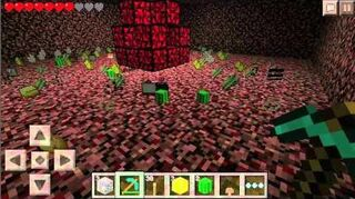 How to build a Nether Reactor - Minecraft PE 0.8