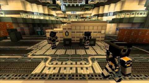 Minecraft Xbox 360 Edition Mass Effect Mash- Up!