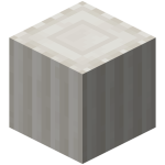 Block of Lines Nether Quartz