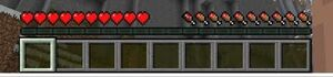 Minecraft Health BAr