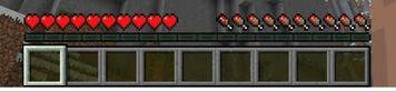 Minecraft Health BAr