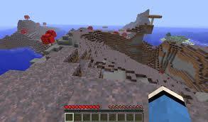 Minecraft Mushroom Island
