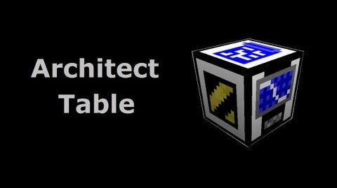 Architect Table - Buildcraft In Less Than 90 Seconds-0