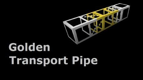 Golden Transport Pipe - Tekkit In Less Than 90 Seconds