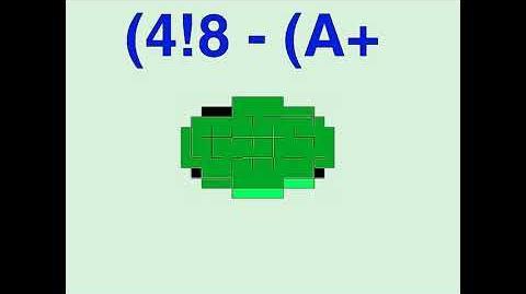 (4!8 - (A+