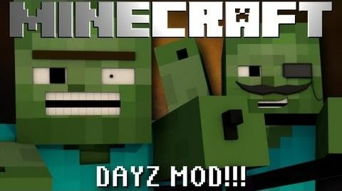 Minecraft Mod Showcase DAYZ ZOMBIE APOCALYPSE MOD!!! 1.6.4