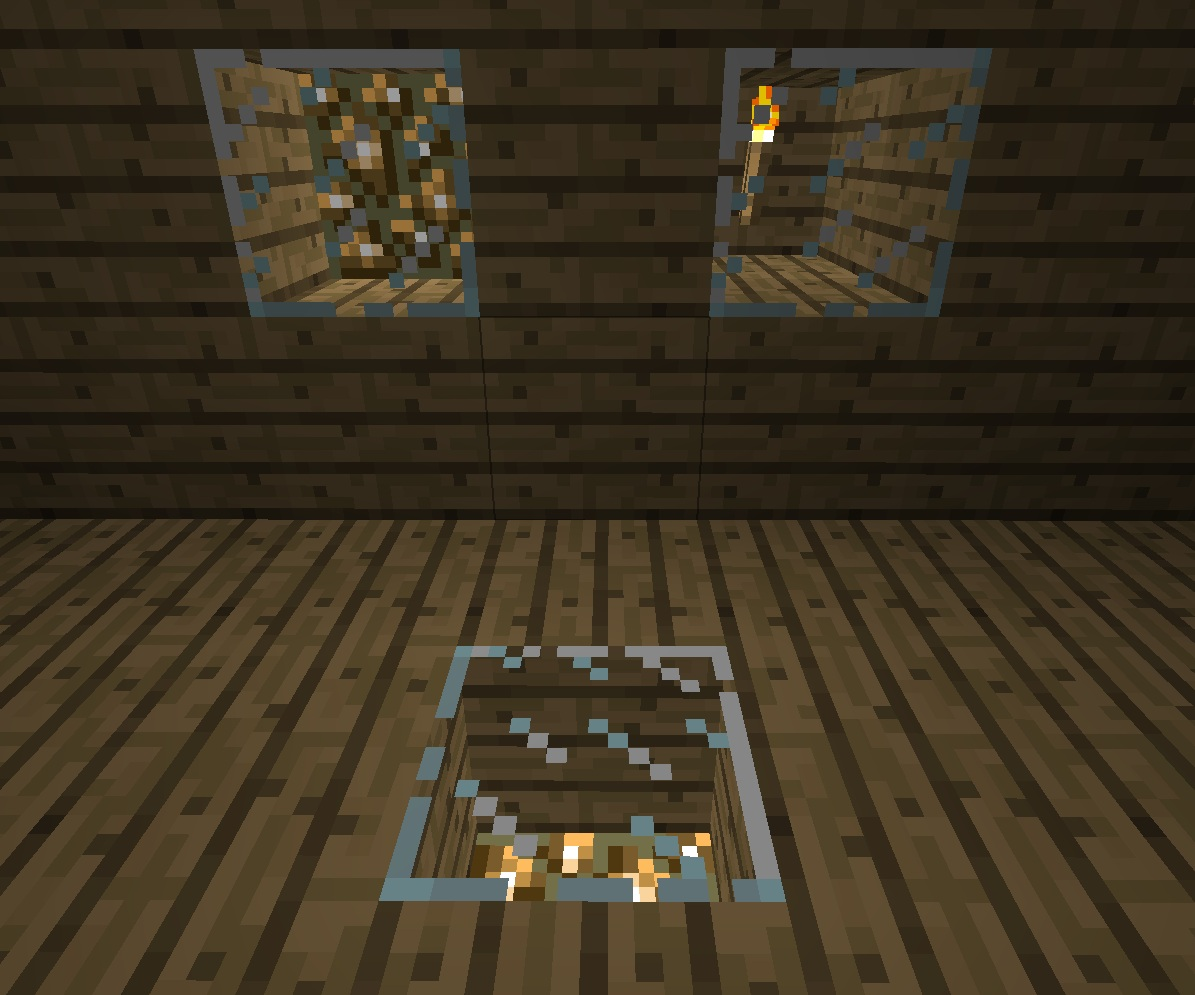 how to make a fence in minecraft. Glass Light How To Make A Fence In Minecraft