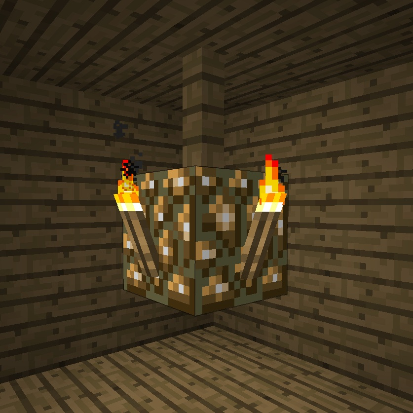 Chandelier : minecraft lighting - azcodes.com